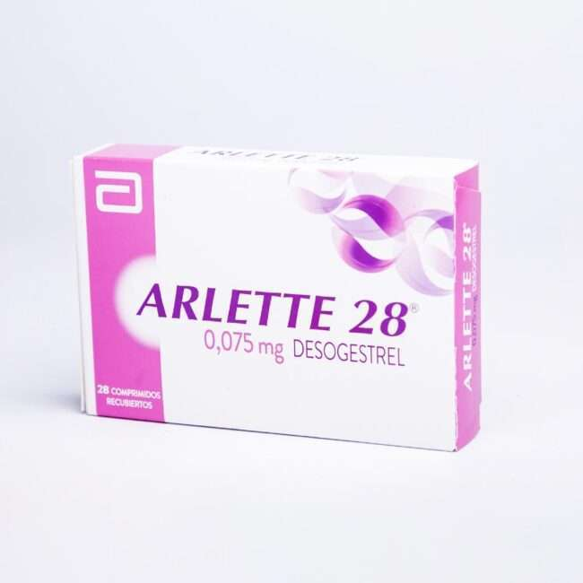 Arlette 28 Desogestrel 0,075 mg 28 Comprimidos Recubiertos